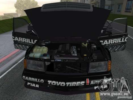 Mercedes-Benz 190E Racing Kit1 pour GTA San Andreas vue de droite