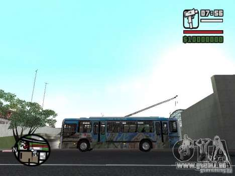 Marcopolo Torino GV Trolebus für GTA San Andreas linke Ansicht