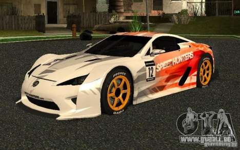 Lexus LFA Speedhunters Edition pour GTA San Andreas