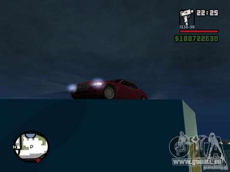 Maserati Quattroporte pour GTA San Andreas vue de droite