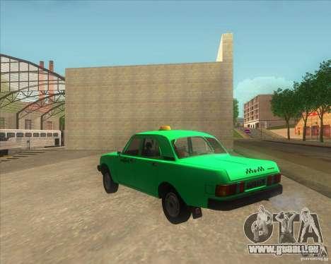 GAZ 31029 taxi für GTA San Andreas linke Ansicht