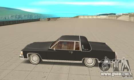 Cadillac Coupe DeVille 1985 pour GTA San Andreas laissé vue