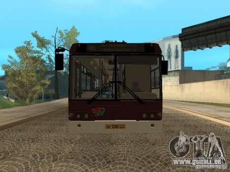 LIAZ 6213.70 pour GTA San Andreas laissé vue