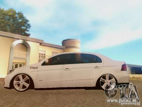 Volkswagen Voyage G5 Roda Passat CC pour GTA San Andreas vue arrière