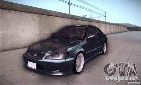 Honda Civic 6Gen für GTA San Andreas