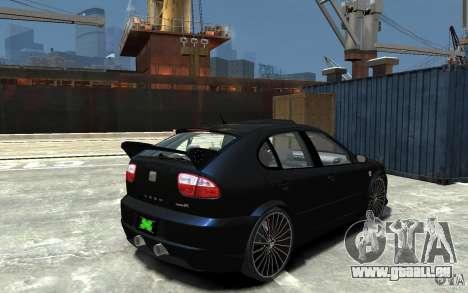 Seat Leon Cupra R für GTA 4 rechte Ansicht