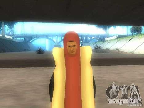 Saucisse de l'homme pour GTA San Andreas