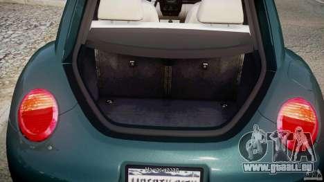Volkswagen New Beetle 2003 pour GTA 4 est un côté