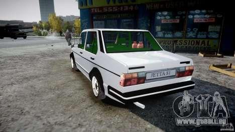Volkswagen Jetta 1981 für GTA 4 hinten links Ansicht