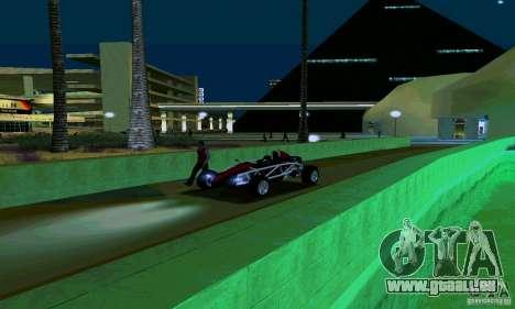 Ariel Atom pour GTA San Andreas vue arrière