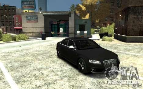 Audi S4 2010 v.1.0 pour GTA 4 Vue arrière