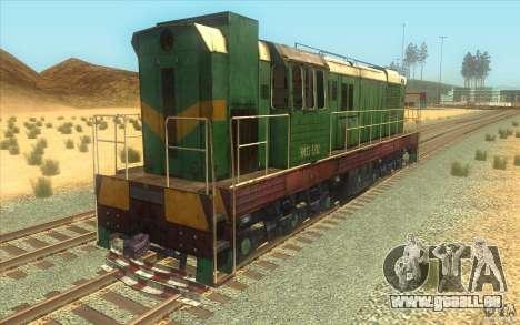 Chme3-5792 pour GTA San Andreas sur la vue arrière gauche