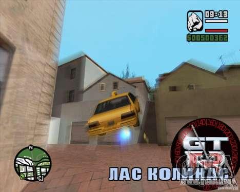 Tachometer GT-R für GTA San Andreas dritten Screenshot