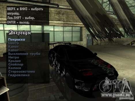 Mitsubishi Lancer Evolution X Drift Spec für GTA San Andreas Seitenansicht