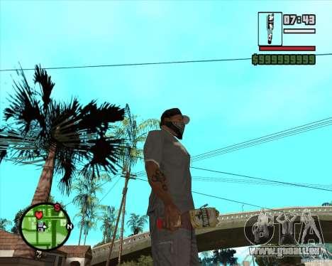 Lvivske Svitle pour GTA San Andreas deuxième écran
