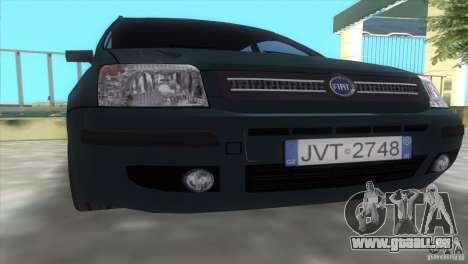Fiat Panda 2004 für GTA Vice City rechten Ansicht