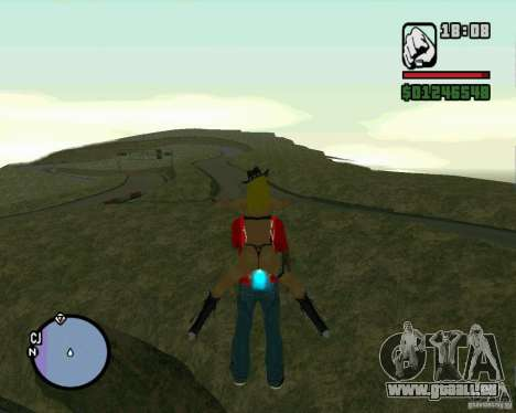 Ebisu Touge pour GTA San Andreas cinquième écran