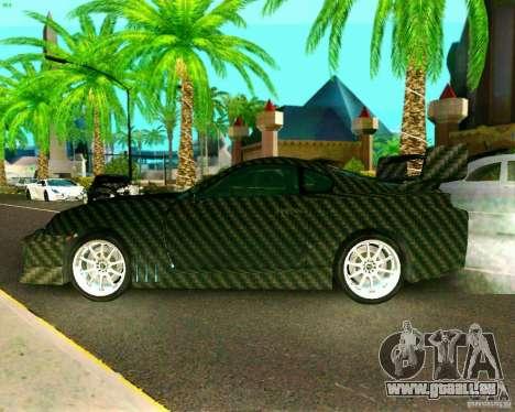 Toyota Supra Carbon pour GTA San Andreas sur la vue arrière gauche