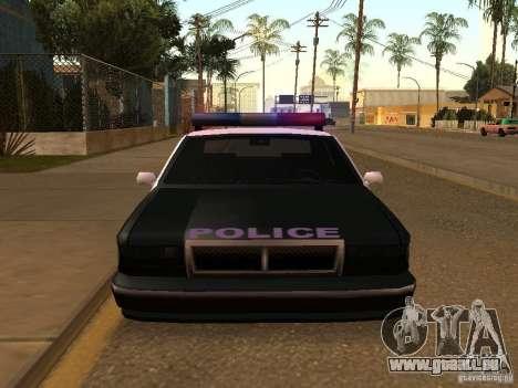 Der Vorteil der Polizei Fahrzeug für GTA San Andreas
