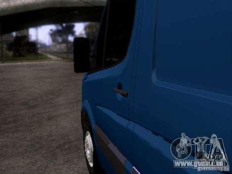 Volkswagen Crafter XL pour GTA San Andreas laissé vue