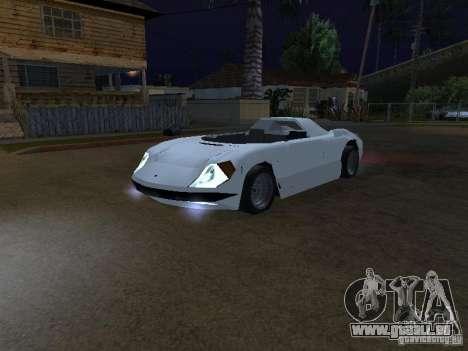 Cup Car pour GTA San Andreas