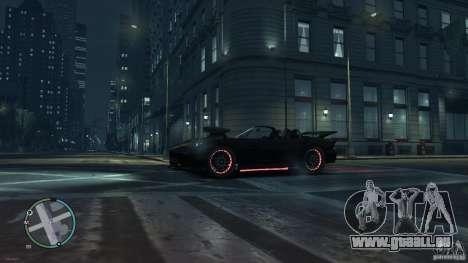 Red Neon  Banshee pour GTA 4 Vue arrière de la gauche