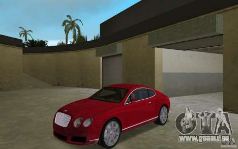 Bentley Continental GT (Final) für GTA Vice City