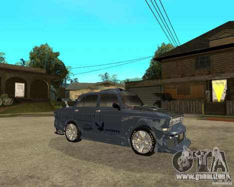 AZLK 2140 SX-Tuned pour GTA San Andreas vue de droite