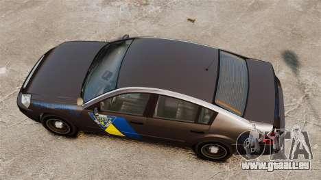 FBI Pinnacle ESPA für GTA 4 rechte Ansicht