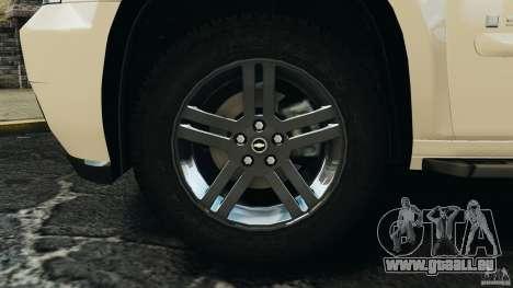 Chevrolet Suburban GMT900 2008 v1.0 pour GTA 4 Vue arrière