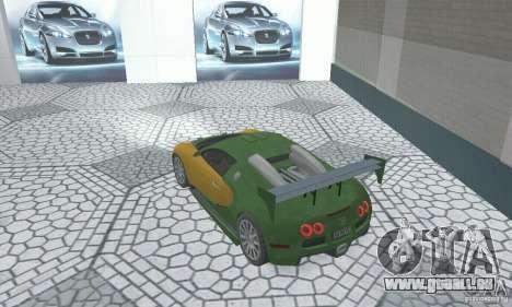 Bugatti Veyron 2005 pour GTA San Andreas laissé vue