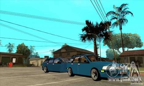 Volvo V40 Gespann pour GTA San Andreas vue arrière