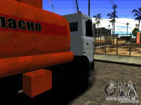 MAZ 533702 LKW für GTA San Andreas linke Ansicht