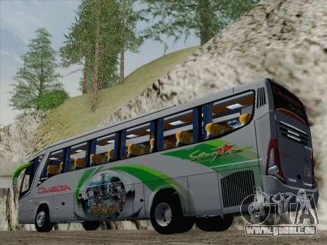 Marcopolo Paradiso 1200 G7 pour GTA San Andreas sur la vue arrière gauche