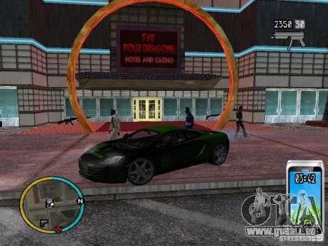 GTA IV HUD v2 by shama123 pour GTA San Andreas sixième écran