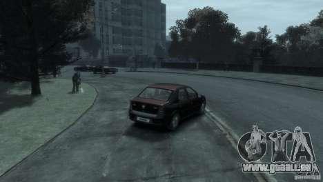 RENAULT LOGAN für GTA 4 Rückansicht
