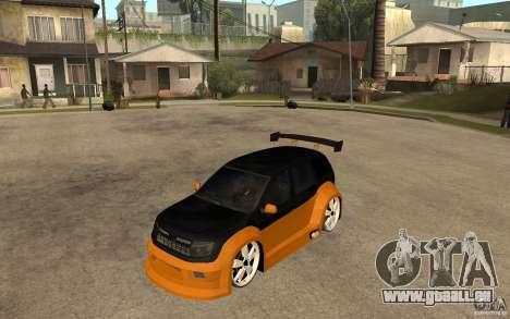 Dacia Duster Tuning v1 pour GTA San Andreas