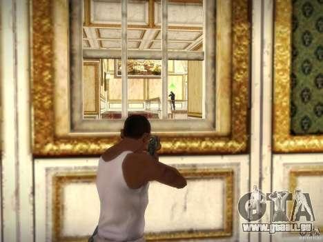 Luxville-carte de Point Blank pour GTA San Andreas troisième écran