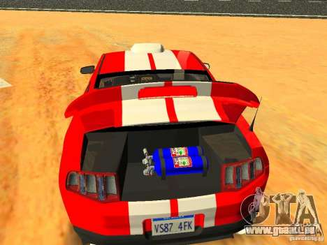 Ford Shelby GT500 pour GTA San Andreas moteur