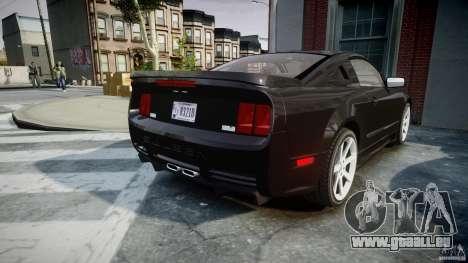 Saleen S281 Extreme Unmarked Police Car - v1.2 pour GTA 4 est un côté