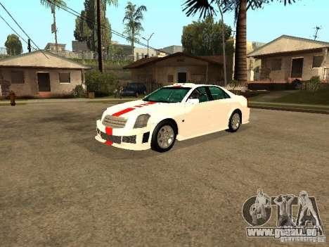 Cadillac CTS 2003 Tunable für GTA San Andreas obere Ansicht