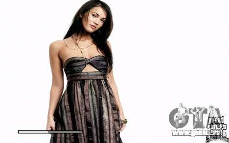 Démarrage écrans HD (Megan Fox) pour GTA San Andreas deuxième écran