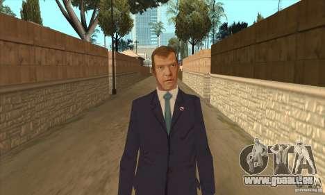 Dmitri Anatoljewitsch Medwedew für GTA San Andreas