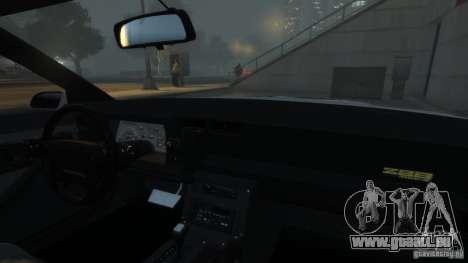 Chevrolet Camaro IROC-Z 1990 v1.0 pour GTA 4 est une vue de dessous
