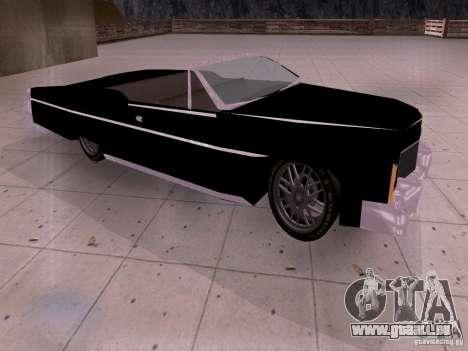 Cadillac Deville 1974 pour GTA San Andreas laissé vue