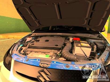 Suzuki SX-4 Hungary Police für GTA San Andreas Seitenansicht