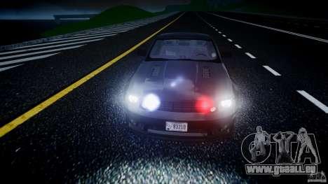 Saleen S281 Extreme Unmarked Police Car - v1.2 für GTA 4 Innen