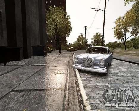 Mercedes-Benz W111 pour GTA 4 est un droit