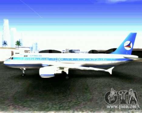 Airbus A-320 Azerbaijan Airlines pour GTA San Andreas vue intérieure