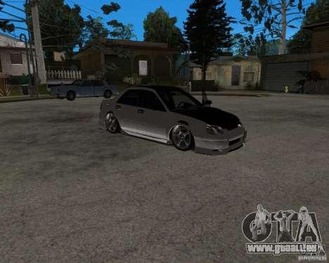 Subaru Impreza (exclusive) für GTA San Andreas